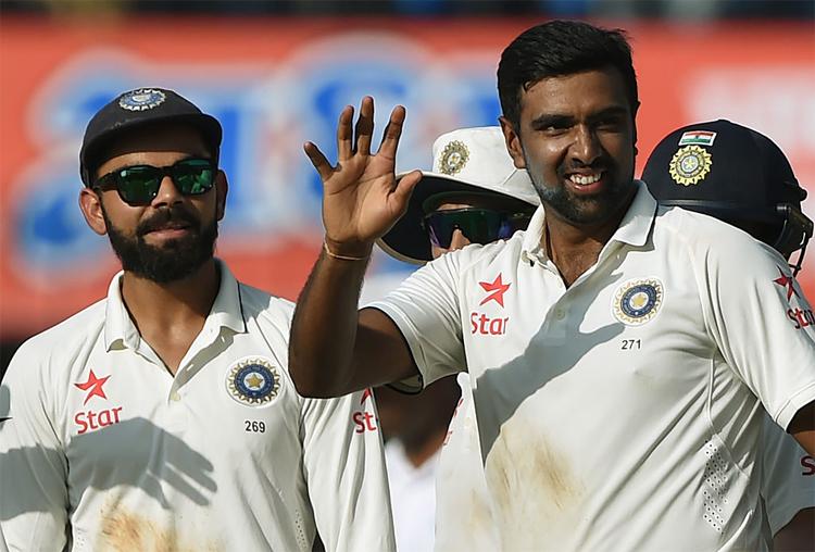 आईसीसी टेस्ट रैंकिंग में अश्विन बने नंबर वन, टॉप 10 में रहाणे भी शामिल