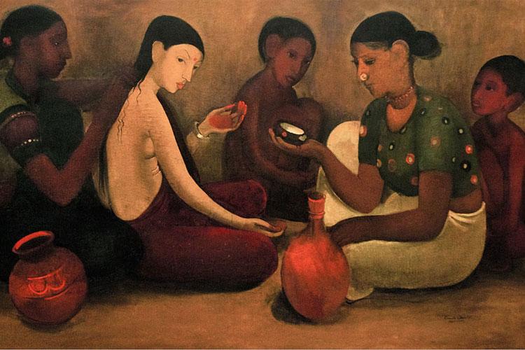 अमृता शेरगिल की पेंटिंग्स