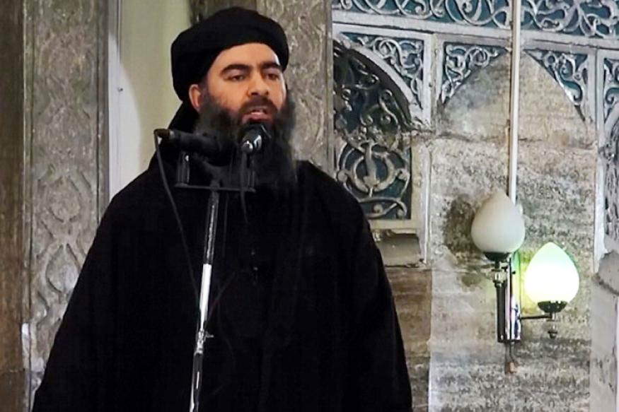 File Photo: Abu Bakr al Baghdadi (New18.Com)