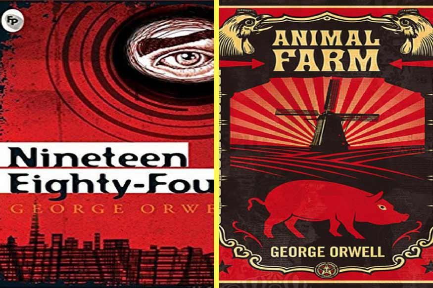 जॉर्ज ऑरवेल की फेमस किताबें (news18)