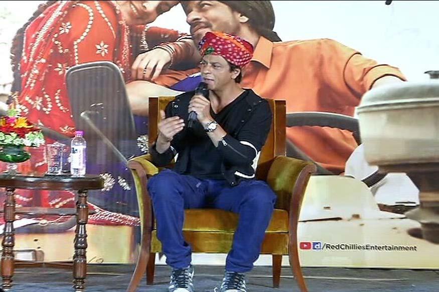 shahrukh khan, film promotion, jab harry met sejal, bollywood news, jodhpur news, tourist guide, rajasthan news, hindi news, rajasthan etv, etv news