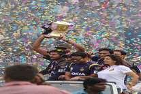 कोलकाता में KKR की जीत का जश्न