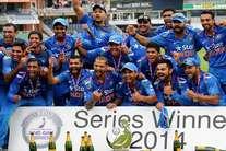 इंग्लैंड में सीरीज जीता भारत