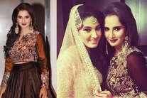 <font color=red>तस्वीरें:</font> सानिया की बहन अनम की सगाई...