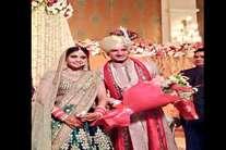 क्रिकेटर मोहित शर्मा ने की गर्लफ्रेंड श्वेता से शादी, देखें- तस्वीरें
