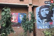 ऐसा है जेएनयू का पोस्टर कल्चर, यहां की हर दीवार कुछ कहती है