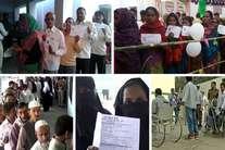 छठे चरण में खूब पड़ रहे वोट, महिलाओं, युवाओं के साथ वृद्धों में खासा उत्साह