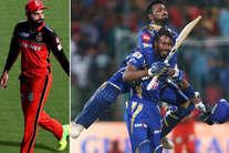 तस्वीरें: जीत के बाद मुंबई ने ऐसे मनाया जश्न, देखती रह गई विराट की टीम