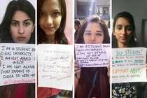 रामजस कॉलेज विवाद : 'एबीवीपी से नहीं डरती' बनाम 'एबीवीपी का समर्थन करती हूं'