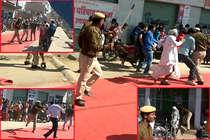 डांसर सपना चौधरी के कार्यक्रम में भीड़ हुई बेकाबू, पुलिस ने जमकर भांजी लाठियां