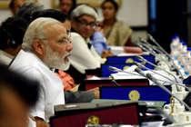नीति आयोग की बैठक में थे पीएम मोदी, नहीं आए केजरीवाल और ममता दीदी
