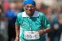101 साल की मनकौर ने जीत लिया 100 मीटर रेस में गोल्ड मेडल