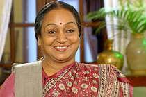 राज्यसभा सीट के लिए पश्चिम बंगाल कांग्रेस ने दिया मीरा कुमार का नाम
