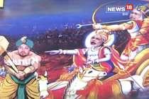 VIDEO: शिवसेना के पोस्टर में अर्जुन के रूप में दिखे नीतीश, पीएम बने कृष्ण