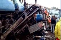 हीराखंड एक्सप्रेस के 9 डिब्बे पटरी से उतरे, 39 की मौत, साजिश की आशंका