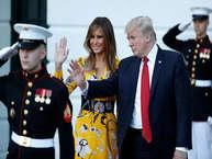 प्रधानमंत्री नरेंद्र मोदी और अमेरिकी राष्ट्रपति डोनाल्ड ट्रंप की मुलाकात पर पूरी दुनिया की निगाह रही है. लेकिन इस हाईप्रोफाइल मुलाकात में अमेरिका की फर्स्ट लेडी और ट्रंप की तीसरी पत्नी मेलानिया की ड्रेस और मीटिंग के दौरान उनका अंदाज चर्चा में रहा है. आइए देखते हैं मुलाकात के दौरान कैसा रहा ट्रंप की तीसरी बीवी का अंदाज.
