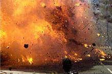 प्रेशर बम की चपेट में आकर सीआरपीएफ जवान घायल