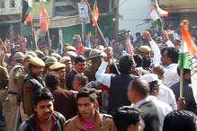 अजमेर बंदः कांग्रेस और भाजपा कार्यकर्ता पहुंचे आमने-सामने, बनी टकराव की स्थिति
