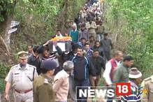 सुकमा के नक्सली हमले में शहीद हुआ पहाड़ का 'हीरा', नम आंखों के साथ अंतिम यात्रा में उमड़ा पूरा गांव