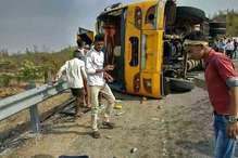 झारखंड: रांची के पतरातू में बस खाई में गिरी, 7 की मौत