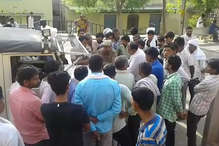 भरतपुरः तेज रफ्तार कार डिवाइडर से टकराकर पलटी, 3 लोगों की मौत
