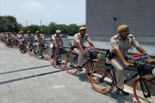 अपराधियों पर लगाम लगाने को दिल्ली पुलिस को मिला साइकिल दस्ता