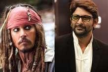'पाइरेट्स' के हिंदी वर्जन में अरशद वारसी निभाएंगे जॉनी डेप का किरदार