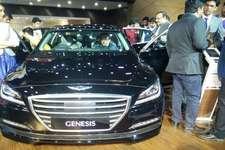 ऑटो एक्सपोः ह्युंदई ने उतारी 8 गियर वाली कार जेनेसिस