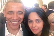 बराक ओबामा से मिलीं मल्लिका शेरावत, शेयर की ये तस्वीर