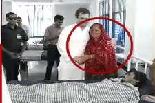 खुद को पीड़ित की मां बताकर कर ली राहुल गांधी से मुलाकात