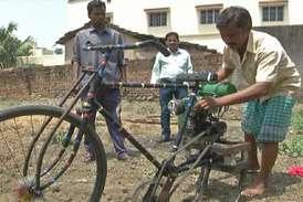 यह है किसान का जुगाड़ हल : साइकिल का दाम, ट्रैक्टर का काम