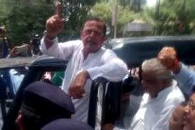 मंत्री आर्य के इस्तीफे की मांग पर सीएम हाउस के बाहर धरना, नेता प्रतिपक्ष गिरफ्तार