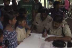 मेघनगर से नागपुर ले जाए जा रहे थे 59 बच्चेेे, सात हिरासत में