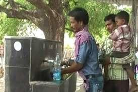 कोटमीसोनार और रायगढ़ के बीच ट्रेन यात्री बिना पानी सफर करने को मजबूर