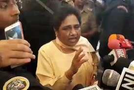 सहारनपुर दौरे पर निकलीं मायावती ने कहा- बीजेपी की मानसिकता जातिवादी