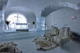 देखें: ये हैं बर्फ के घर, यहां रहने के लिए चाहिए मजबूत जिगर!