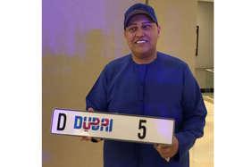 दुबई में पसंदीदा नंबर प्लेट के लिए भारतीय ने खर्च किए 60 करोड़
