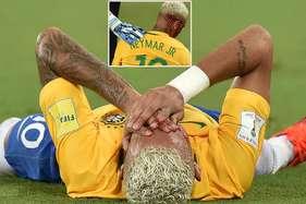 दिग्गज फुटबॉलर नेमार को मैदान में लगी ऐसी खतरनाक चोट, लहूलुहान हुआ चेहरा