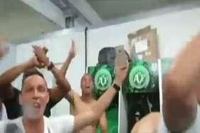 वीडियो: प्लैन क्रैश से पहले फुटबॉल टीम की आखिरी मौजमस्ती