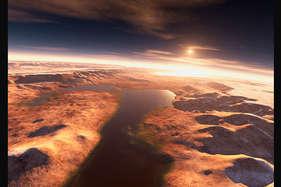 नासा के क्यूरियोसिटी अंतरिक्षयान ने लाल ग्रह पर खोज निकाली बैंगनी चट्टान