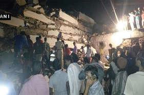 हैदराबाद में सात मंजिला इमारत गिरी, कई लोगों के दबे होने की आशंका