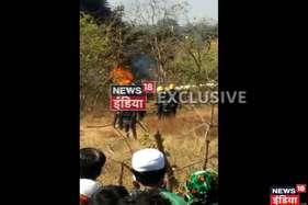 मुंबई में हेलीकॉप्टर क्रैश, पायलट की मौत, 3 घायल