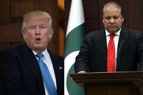 ट्रंप ने की नवाज की तारीफ, 'आप शानदार इंसान, पाकिस्तान बुद्धिमान देश'