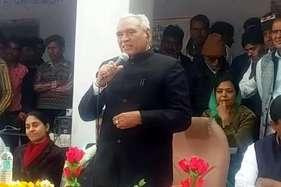 केंद्रीय मंत्री सीआर चौधरी नागौर जिले के दौरे पर, ग्रामीणों की सुनी समस्याएं