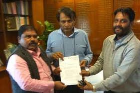 बस्तर से नई दिल्ली तक ट्रेन की मांग को लेकर सांसद ने की रेल मंत्री से मुलाकात