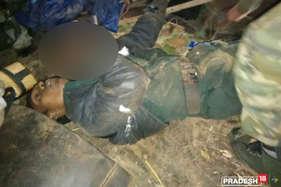गश्त पर निकली पुलिस टीम का नक्सलियों से मुठभेड़, एक माओवादी ढेर