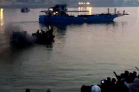 पटना में हुए नाव हादसे का दिल दहला देने वाला वीडियो