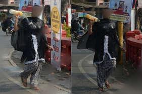 डीआईजी ऑफिस के सामने युवती ने खुद पर डाला पेट्रोल और फिर...