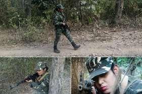 एके-47 थामे दरभा के जंगलों में नक्सलियों की तलाश में बेखौफ घूमती हैं उषा किरण