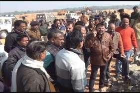देवघर में आयुध कारखाना के लिए कवायद तेज, टीम ने किया स्थल मुआयना